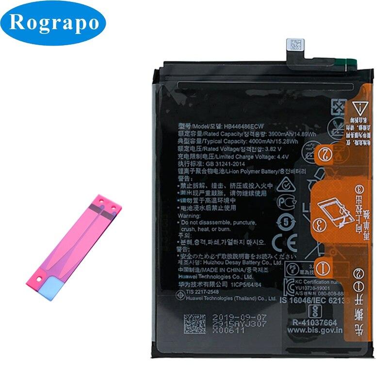 Batería de teléfono móvil Original 4000mAh HB446486ECW para Huawei P20 lite (2019) / P Smart Z STK-LX1 LX21 ANE-AL00 TL00 LX1 LX2 LX3