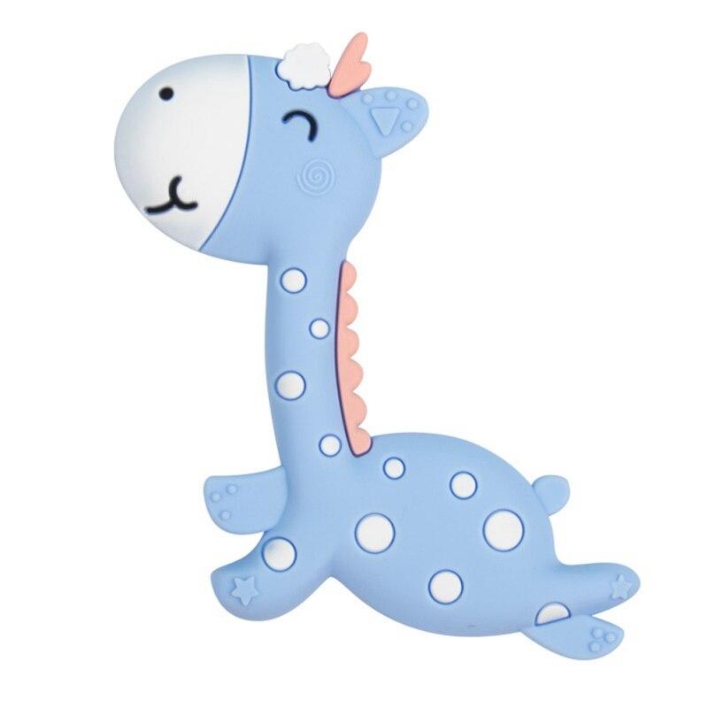 Nuevos mordedores para bebés de silicona de dibujos animados mordedor de BPA gratis masticar encantos dientes de dentición infantil juguetes de regalo