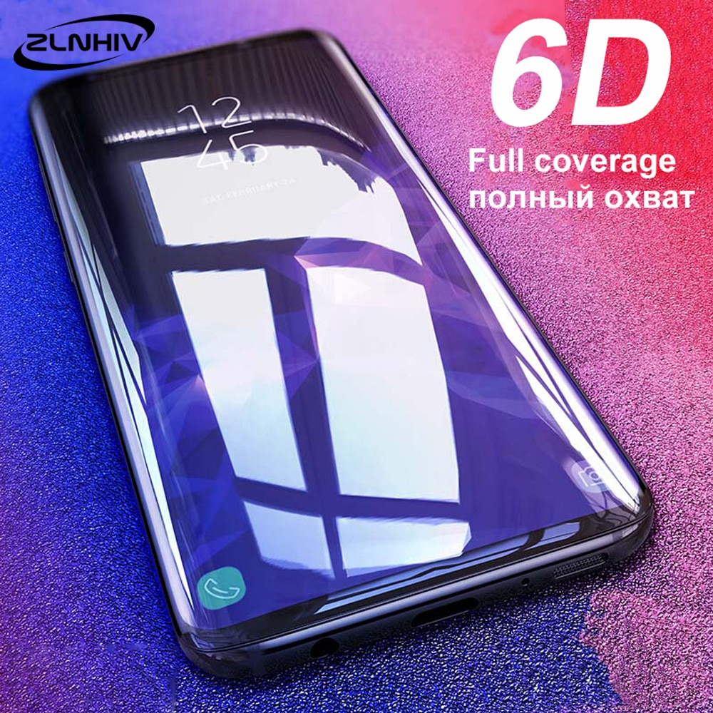 ZLNHIV vidro temperado cobertura integral para samsung galaxy A90 A80 A70 A70s A60 A50 A40 A30 A20 A10 smartphone telefone protetor de tela