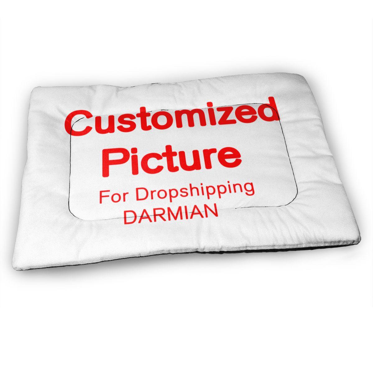 3D Подгонянный коврик для собак, одеяло для средних домашних животных, мягкая подушка для кошек, щенков, диванов и кроватей, теплое одеяло с 3D ...
