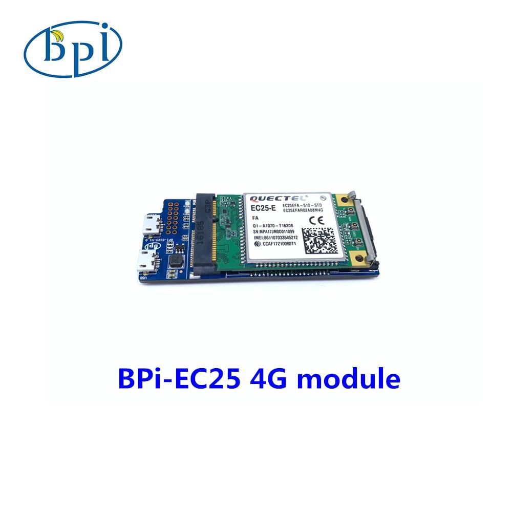 PIEC25-E banane 4G module BPI R2/R64