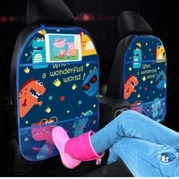 car accessories pad for auto seat backrest cover with bag waterproof front pew prevent wear mat kid cartoon protection
