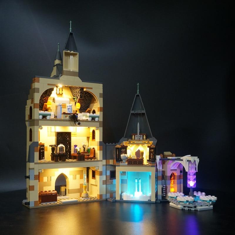 Kyglaring, Kit de iluminación Led para la Torre del Reloj LEGO 75948 (el modelo no incluido)