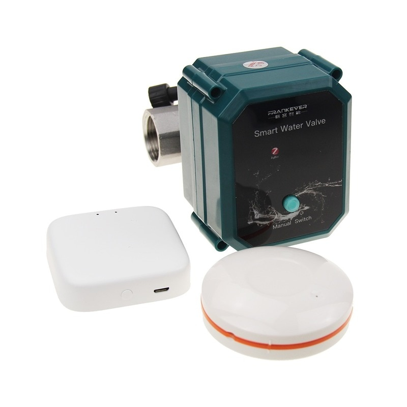 Tuya Smart WiFi Water Valve WIFI control water valve with Alexa Goog for Leakage Protection System Compatible