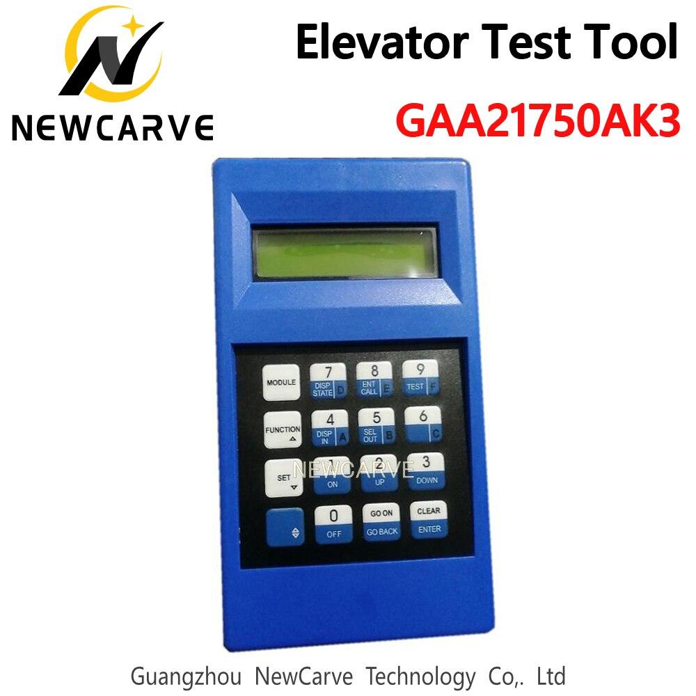 Gaa21750ak3 azul elevador ferramenta de teste vezes ilimitadas desbloquear marca-nova ferramenta de serviço de elevador newcarve