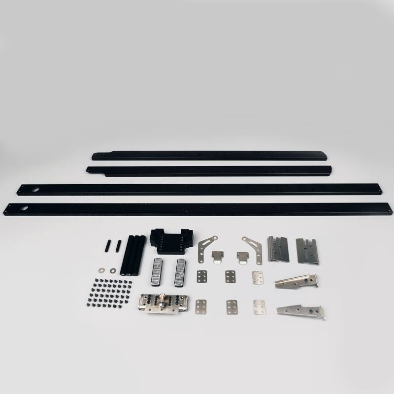 Metal Aluminum Alloy Double Layer Lengthen Metal Chassis Beam 8X8 60cm for 1/14 Tamiya RC Truck Tractor DIY enlarge
