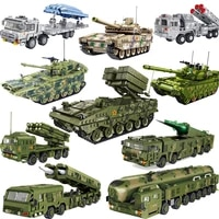 meoa new chinese military weapons bricks tank rocket gun air defense missle drone set building blocks armored vehicle model kits