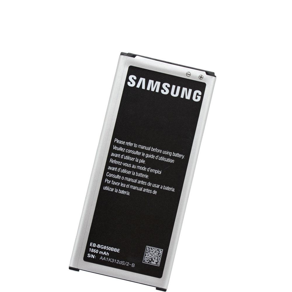 20pcs/lot OEM Battery EB-BG850BBE For Samsung Galaxy Alpha SM-G850F G8508S G8509V G850M Phone High Quality Bateria 1860mAh enlarge