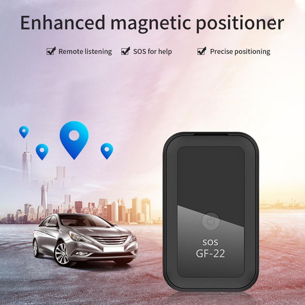 GF22 автомобильный GPS-трекер в реальном времени, голосовое управление, магнитное устройство против потери, автомобильный GPS-локатор, локатор, ...
