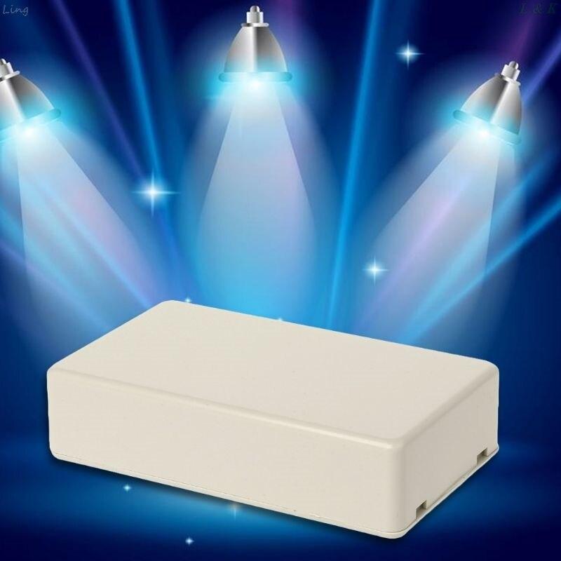 """Nueva caja de proyecto electrónica de plástico, caja de cierre 3,34 DIY """"L x 1,96"""" W x 0,83 """"H"""