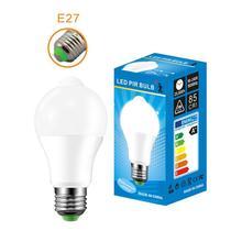 B22 E27 PIR Induction lampe à LED 10W LED ampoule capteur de mouvement AC220V LED veilleuse pour couloir allée escaliers balcon Lampada