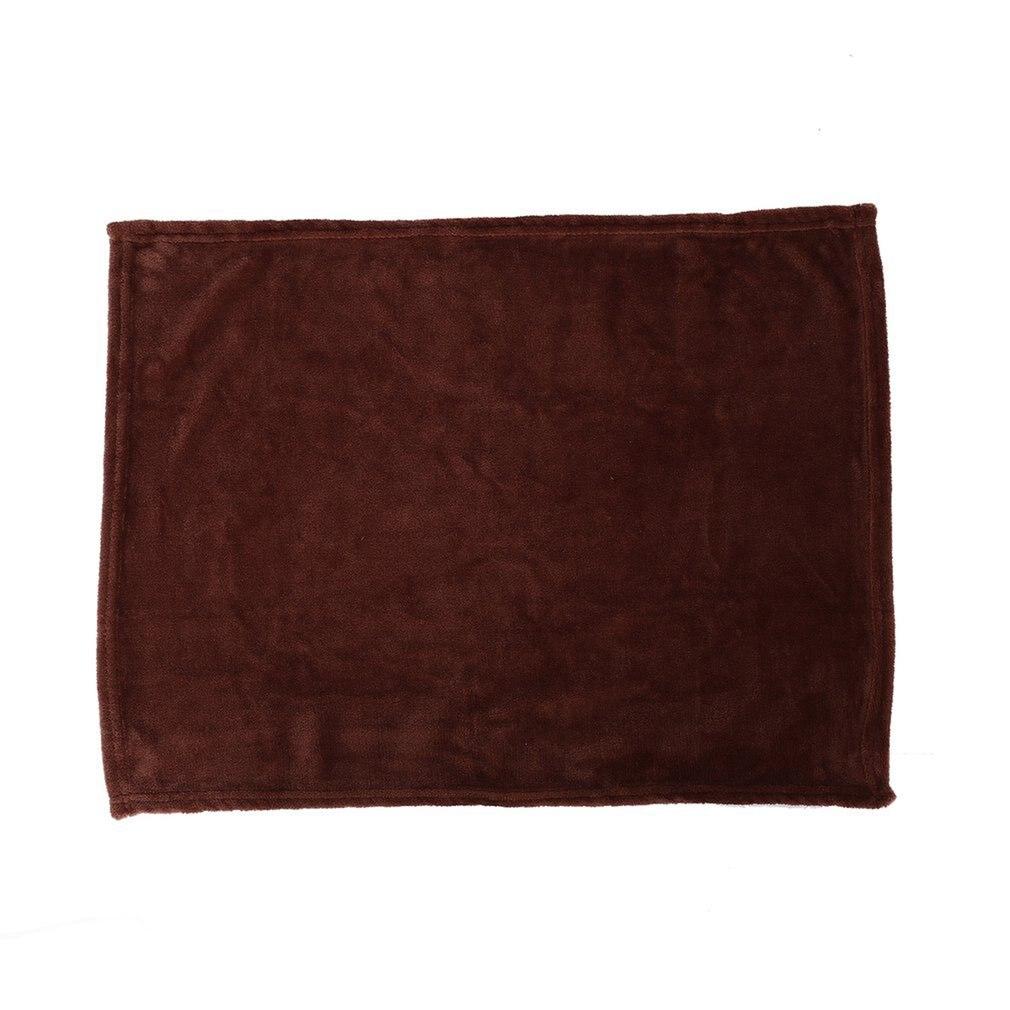 Cómodo Super suave mantener caliente manta de franela de gran tamaño de Color sólido hogar sofá ropa de cama Oficina Coche manta hogar textil