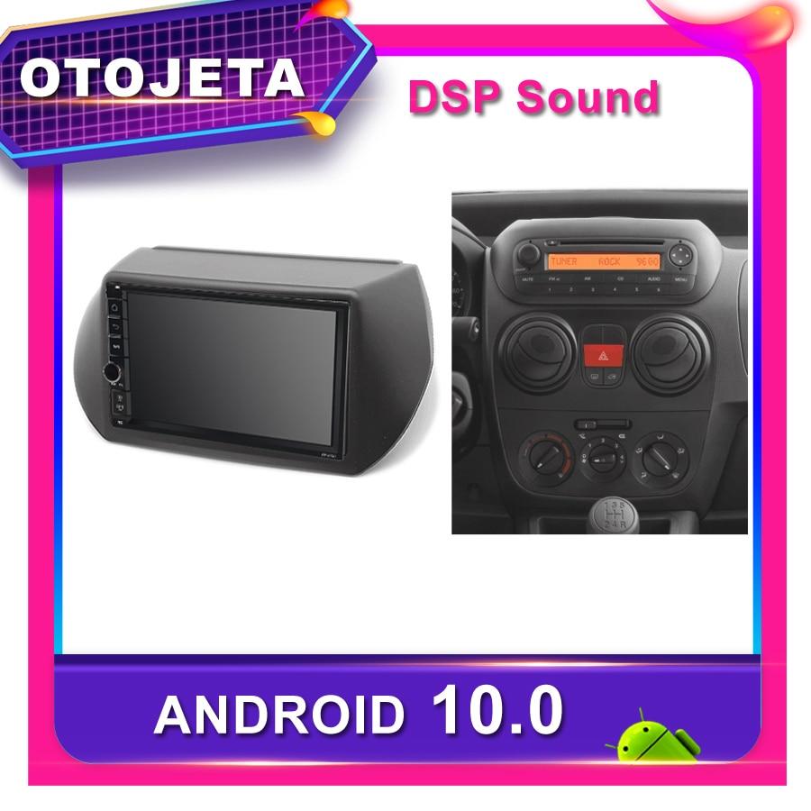 Marco android 10,0 reproductor de dvd del coche para Citroen Nemo coche radio Peugeot bipper GPS para coche Fiat Fiorino multimedia NAVI grabadora de cinta