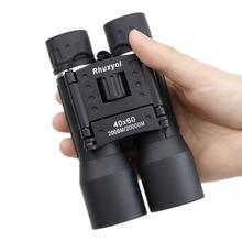 Jumelles de chasse, grand Angle 40x60 HD, Zoom de voyage extérieur, Zoom prismatique pliant, lunettes puissantes à main, 40x