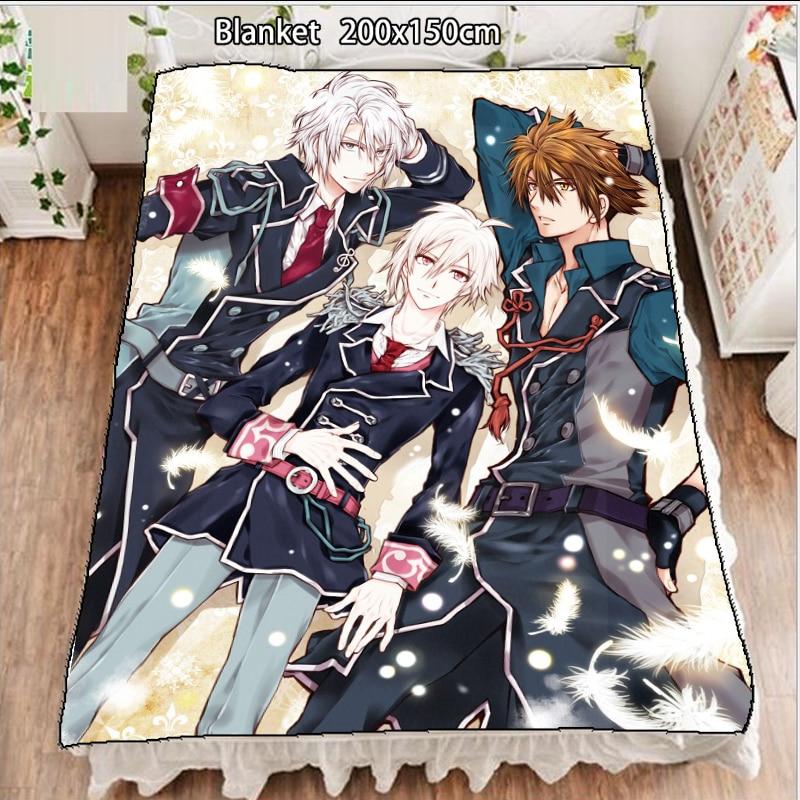 بطانية الصوف الانيمي idolish7 أوساكا سوجو ياوتومي غاكو لحاف السجاد لينة مستلزمات الفراش 200x150cm