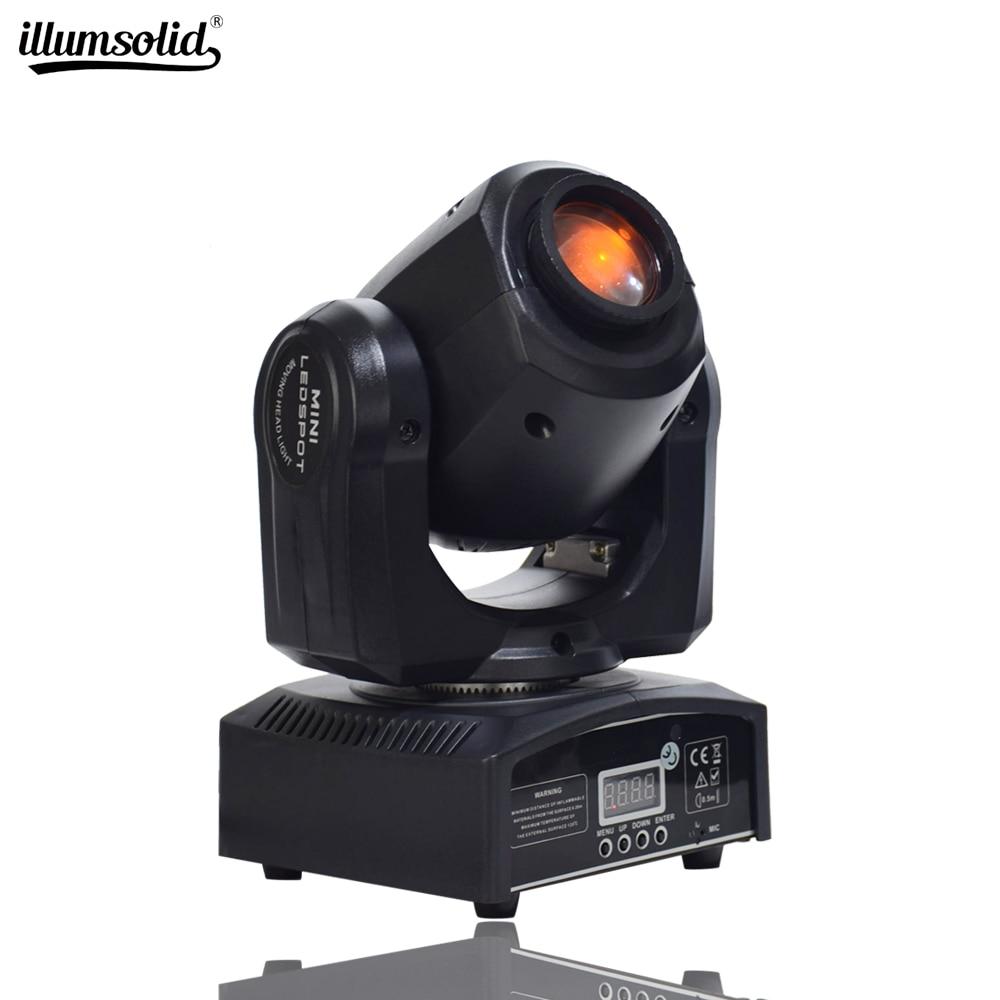 Mini Spot 10W LED Moving Head Light With Gobos Plate&Color Plate,High Brightness 10W Mini Led Moving Head Light DMX512Mini Spot
