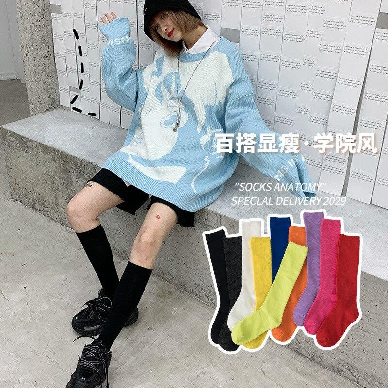Японский jk Корейская версия женских носков в студенческом стиле уличные чулки носки повседневные модные магазины рекомендуется менеджер