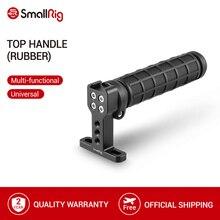 SmallRig górny uchwyt rękojeści z zimnym butem do lustrzanki cyfrowej Quick Release klatka operatorska Monitor kamera stabilizująca górny ściskacz-1446