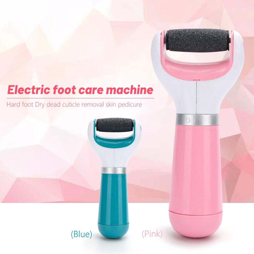 Купить с кэшбэком Electric Foot Care Machine Remover Dead Dry Cuticle Skin Peel Foot Grinding Exfoliator Pedicure Callus Foot Skin Removers Tools