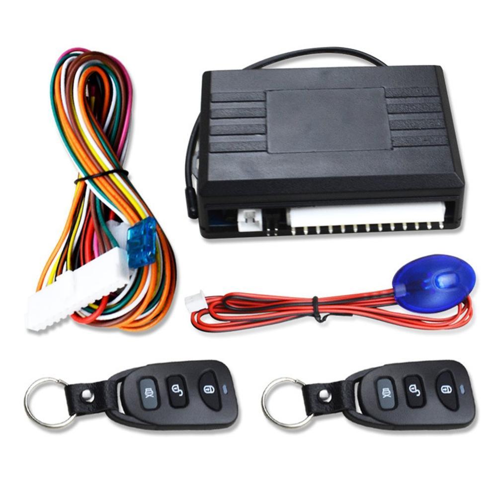 12V Car Remote Central Door Lock Keyless System Remote Control Car Alarm Systems Central Locking with Auto Remote Central Kit