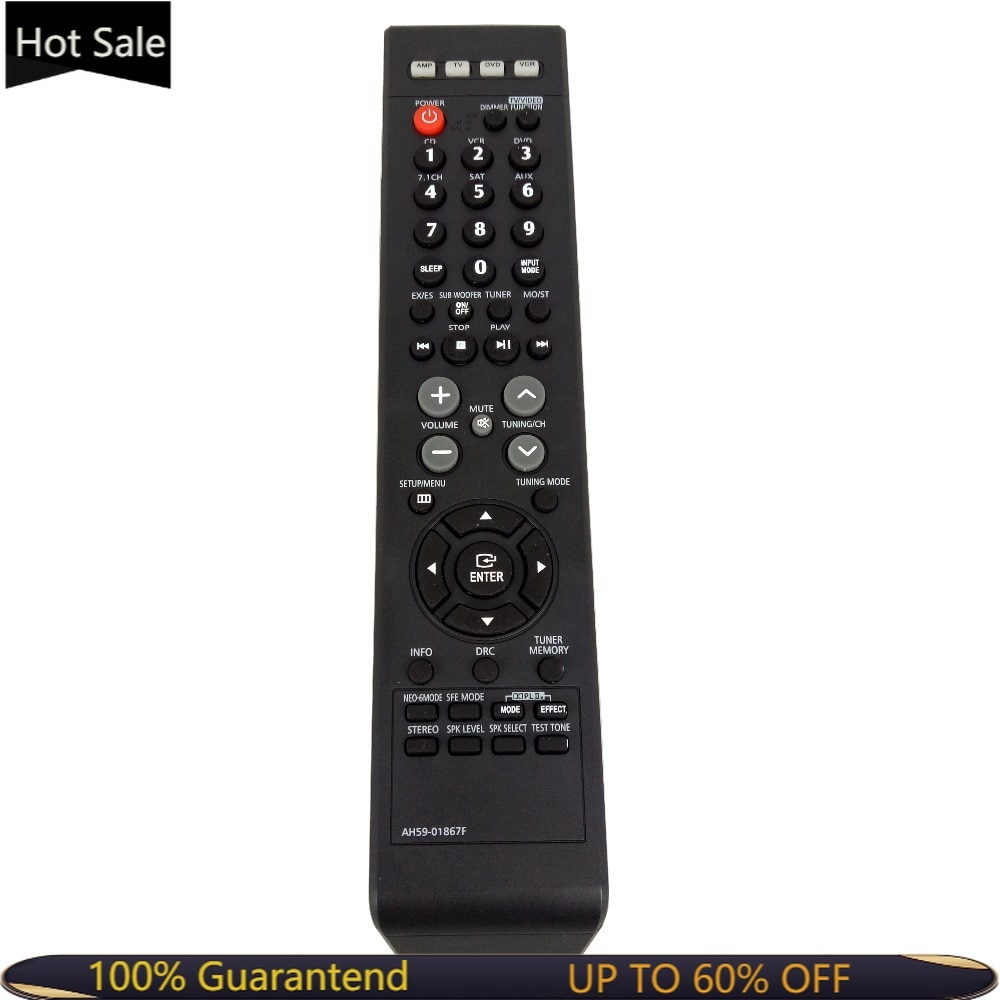 NEW AH59-01867F Replacement For Samsung Home Theater Remote Control For HT-AS720 AV-R720 HT-AS720S H