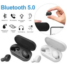 M1 TWS auricular inalámbrico en la oreja Bluetooth 5,0 auriculares IPX6 auriculares estéreo deportivos a prueba de agua Auriculares auriculares con micrófono caja de carga automática