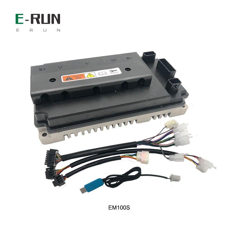 وحدة تحكم VOTOL EM100S ، 100A Boost 130A BLDC لـ QS PMSM ، محرك محور العجلة ، شحن مجاني
