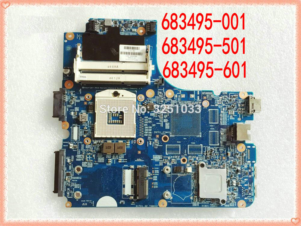اللوحة الأم للكمبيوتر الدفتري hp ProBook 683495 s ، 4440-683495 ، 501 s ، 4440s ، 4441s ، DDR3 ، 4540-001