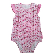 Purple Ladybug Printed Lotus leaf Adult Bodysuit ABDL Onesie Adult Baby Pajamas Adult Bodysuit For Baby Girl