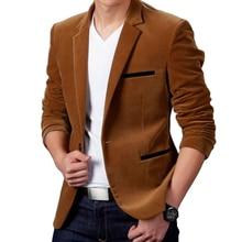 Luxury Men Blazer New 2021 Autumn Fashion Brand High Quality Classic Busines Coat Slim Fit Men Suit