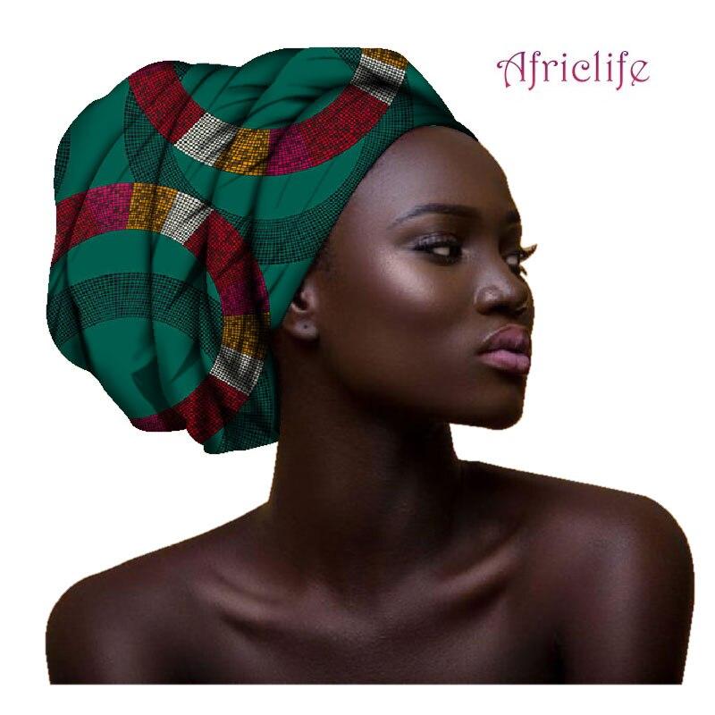 2020 March Clothong Hair Accessory Headband Bazin Head Wrap Tie Scarf High Quality African Hair Head Scarf African Scarves AF003