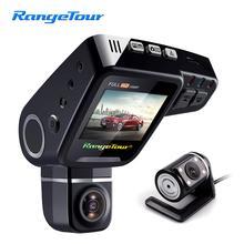 Range Tour C10s Plus Mini voiture   DVR, tableau de bord tourné à 360 degrés, caméra à double objectif, avant 1080P arrière 480P, vidéo, écran de 2 pouces