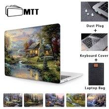 MTT étui pour ordinateur portable pour Macbook Air Pro 11 12 13 15 16 pouces avec Touch ID 2020 peinture à lhuile housse pour ordinateur portable coque a2289 a2251 a2179