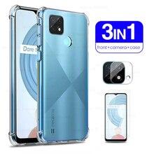 realmi c21 glass camera protective case cover for oppo realme c21 c 21 tempered glass realmec21 clea
