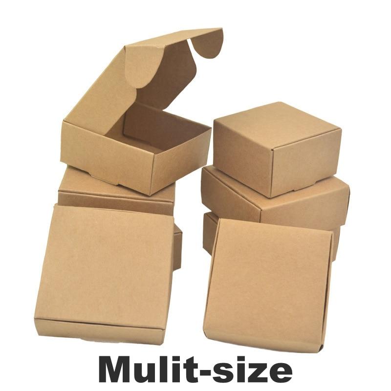 Caja de embalaje de papel natural para regalos de boda y dulces,...