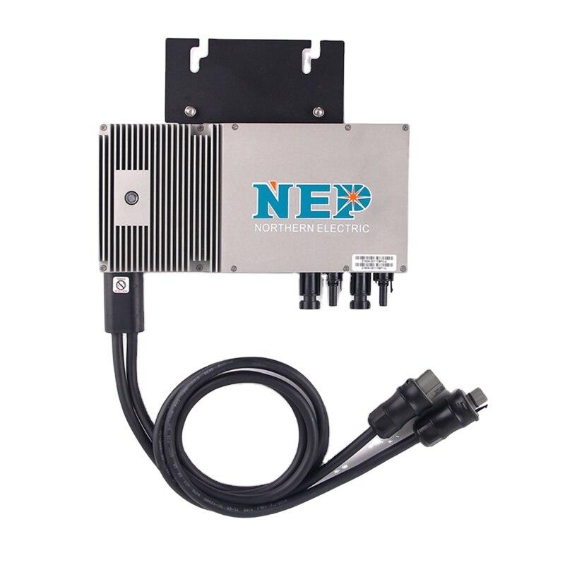 600 واط 110 فولت/120 فولت/220 فولت/230 فولت لوحة طاقة شمسية التيار المتناوب كابل توصيل الرصاص NEP Miceo العاكس