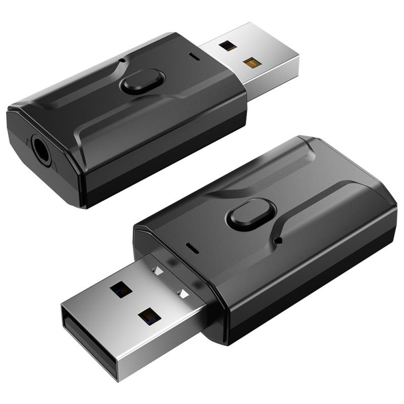 Adaptador Bluetooth USB inalámbrico Bluetooth 5 0 transmisor receptor de música y...