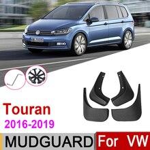 Брызговик для Volkswagen VW Touran MK2 2019 2018 2017 2016, брызговики, брызговики, автомобильные аксессуары