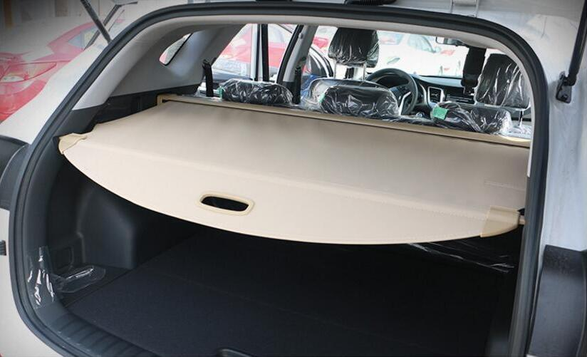 High Qualit Car Rear Trunk Cargo Cover Security Shield Screen shade Fits For Volkswagen T-ROC 2018 2019(black, beige)