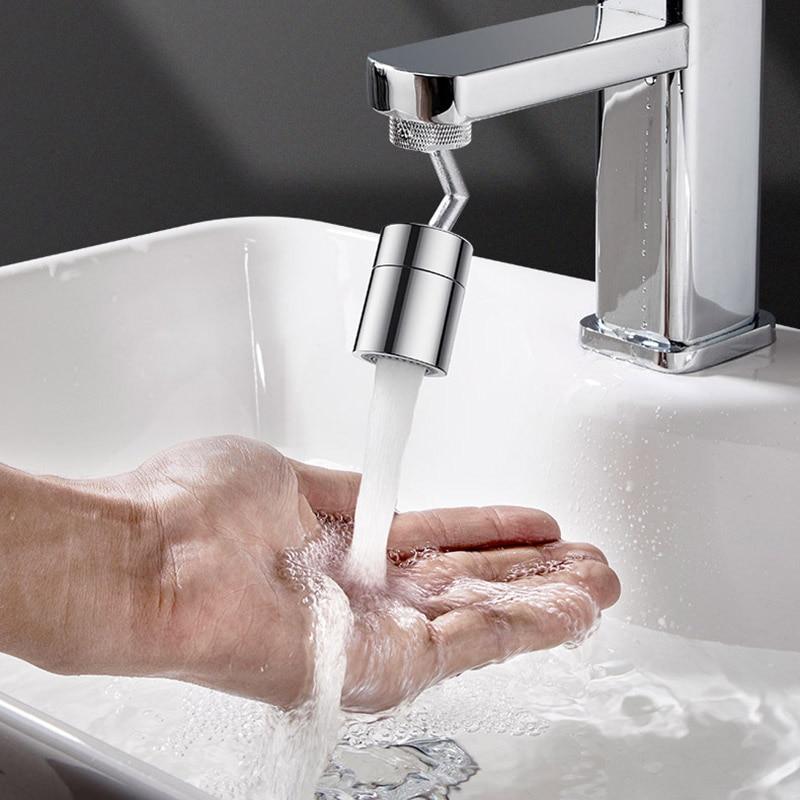 Rotatable Spray Head Tap Durable Faucet Filter Nozzle Kitchen Faucet Head Anti Splash Tap Pressurized Faucet Kitchen Accessorie