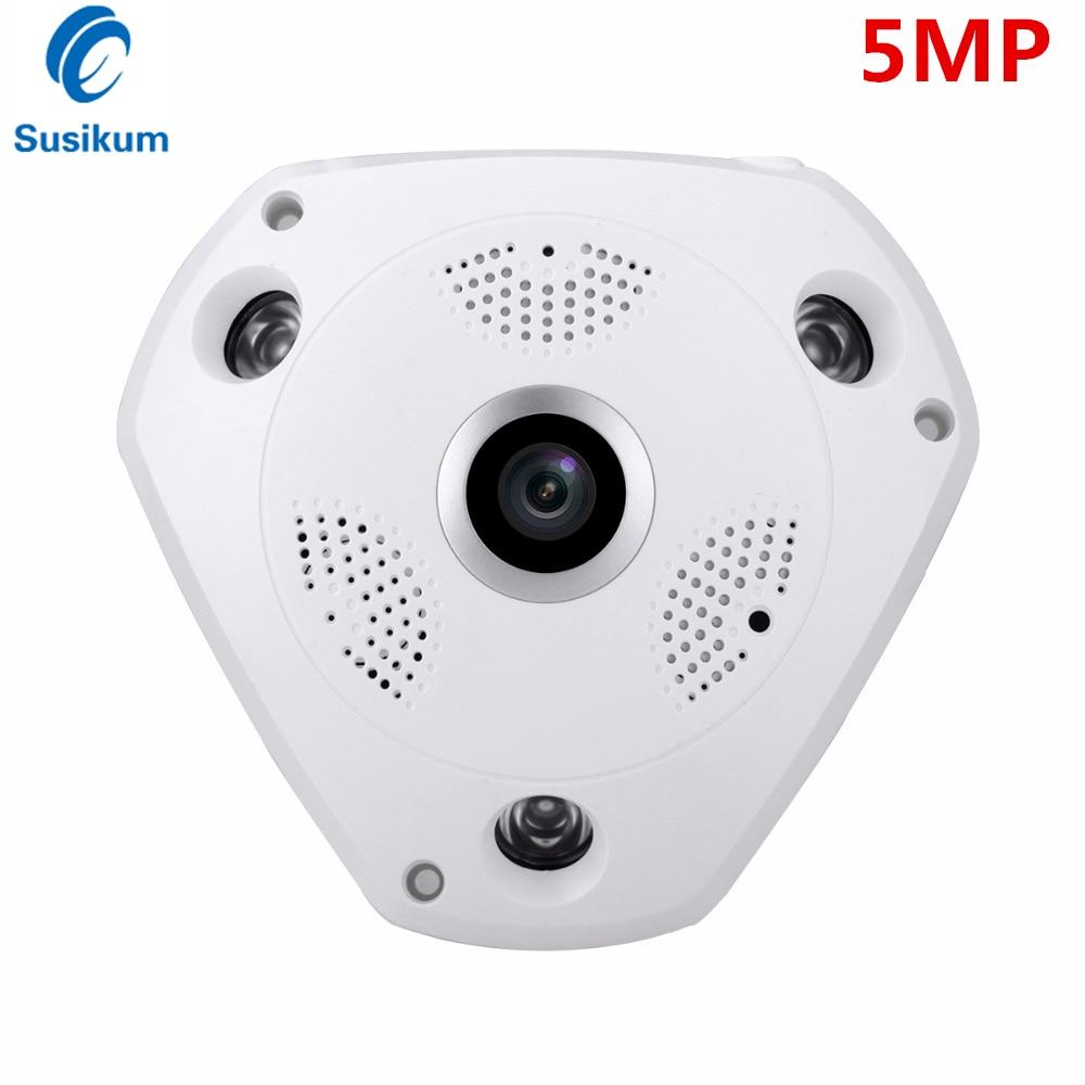 Panorama Wide Angle 1.7mm 2.8mm 3.6mm Lens Indoor CCTV Camera AHD SONY IMX326 Security AHD Camera 5MP OSD Menu HD CVI HD TVI