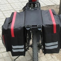 30l large capacity bicycle rear shelf bag mountain bike motorcycle carry bag rear double saddle bag cycling equipment fast deliv