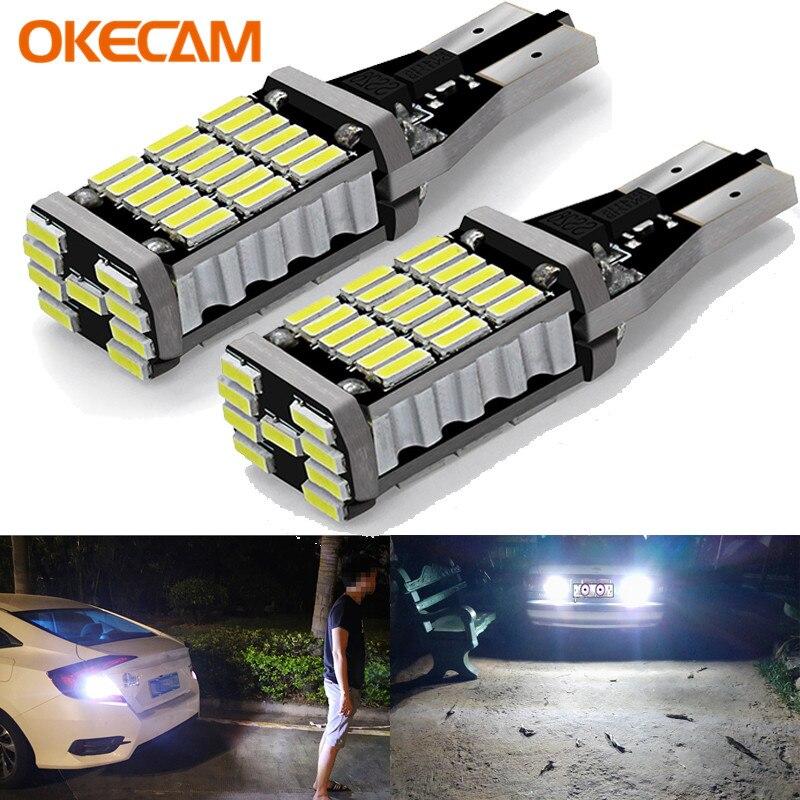 T15 W16W CANBUS Светодиодные Автомобильные хвостовые лампы для Honda Accord Civic 4D CRV Fit Pilot Stream Insight тормозные огни авто резервная обратная лампа