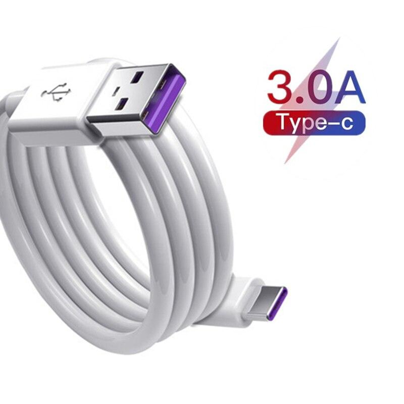 Cable USB tipo C de carga rápida para móvil, Cable USB tipo...
