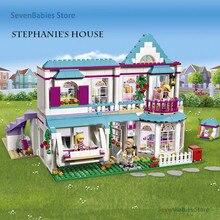 StephanieS House Blocks Genuine Good Friends Girls Series 01014 Set Building Blocks Bricks Lepining Friends Gift 41314 622pcs