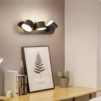 nordic modern led wall lamp rotate bedroom bedside living room indoor sconce lighting hallway aisle fixture reading decor light
