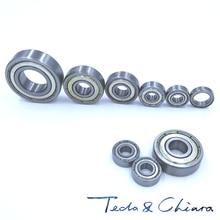10Pcs 677-2Z 677ZZ 677zz 677 zz MR117ZZ MR117 L-1170 Deep Groove Ball Bearings 7 x 11 x 3mm Free shipping High Quality