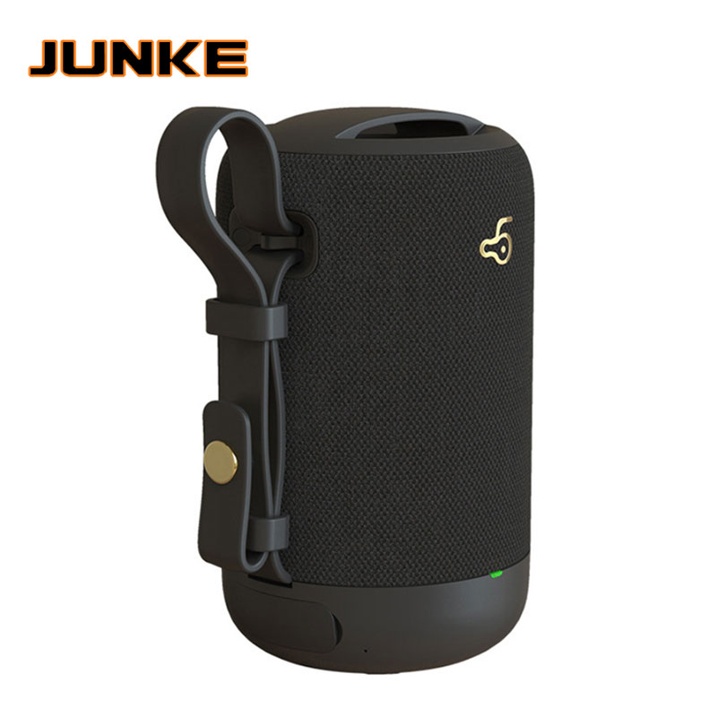JUNKE 10W Bluetooth altavoz de Bajo altavoz portátil exterior inalámbrico columna altavoz apoyo TF FM Radio USB AUX