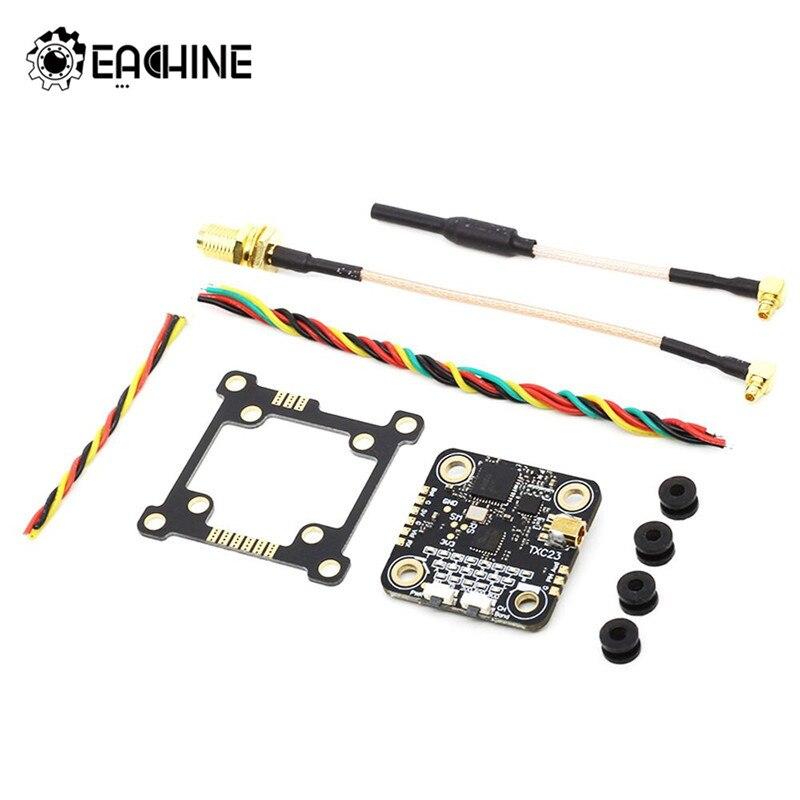 Eachine txc23 vtx 5.8 ghz 48ch 25/200/600/800 mw fpv mini transmissor pitmode ism simulação de banda para fpv racing rc drone peças