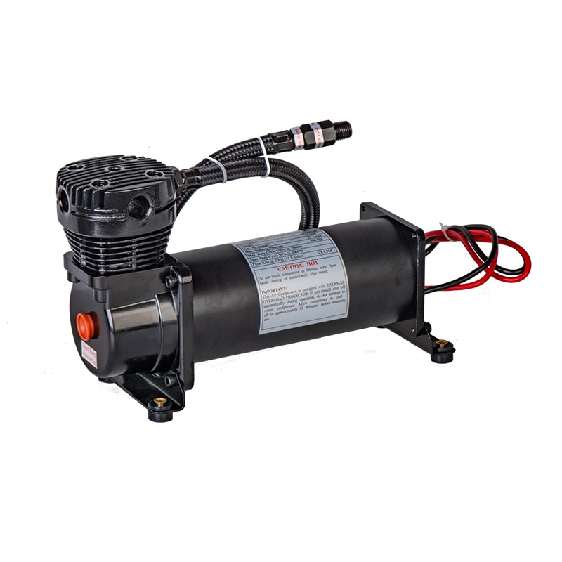 Kit de compresor de aire Universal 12V 480c 200 PSI salida 3/8 o 1/4 compresor de suspensión neumática/bomba de coche